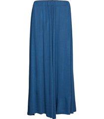 amelia lång kjol blå totême