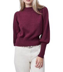 french connection puff-sleeve sweater