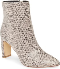 women's chinese laundry erin bootie, size 6.5 m - beige