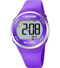 reloj color run morado calypso