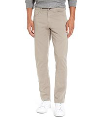 men's vintage 1946 'sunny' slim fit stretch twill pants, size 35 - metallic