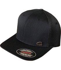 gorra fist con pin negra con malla en ultra fibra gfistcap30