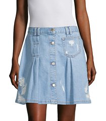 penny denim skirt