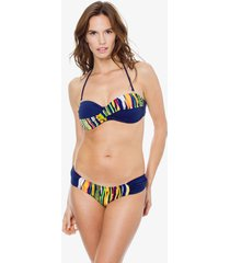 bikini azul mare moda sayoart