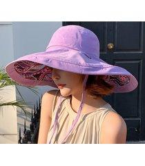 señoras exterior nueva sombra sombrero-violeta
