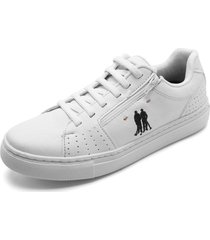 sapatênis polo wear logo branco