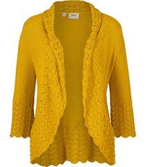 bolero in maglia (giallo) - bpc bonprix collection