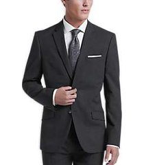 ben sherman charcoal extreme slim fit suit