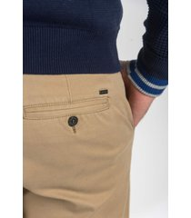 pantalon marrón oxford polo club dean