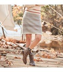 chalet chic skirt