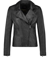ibana leren jacket 301930060 waves black
