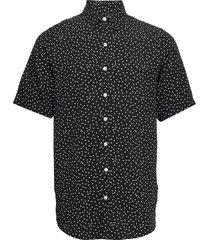 grande s/s shirt kortärmad skjorta svart denim project