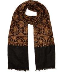 baroque embroidered handwoven pashmina shawl