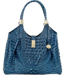 brahmin melbourne embossed leather celia satchel