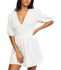 billabong women's spellbound mini fit & flare dress