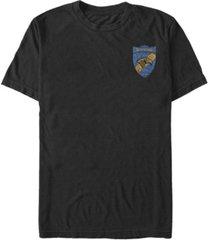 fifth sun men's ravenclaw shield short sleeve crew t-shirt
