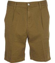 carhartt brown abbot shorts