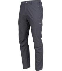 pantalon outdoor hombre trail q-dry pants gris oscuro lippi