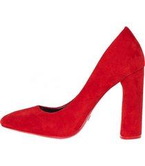 zapato formal dalca rojo weide