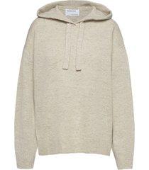 silvia hoodie stickad tröja creme designers, remix