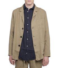 massimo alba beige florida jacket