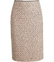 scarlett tweed wool pencil skirt