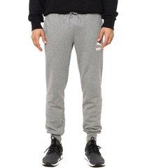 pantalón gris puma classics sweat pants cuffs