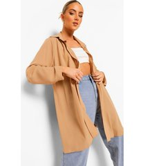 oversized losse blouse, sand