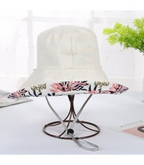 sombrero de pescador de doble cara del verano sombrero del pescador