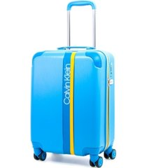 "calvin klein avenue lanes 21"" hardside carry-on spinner"