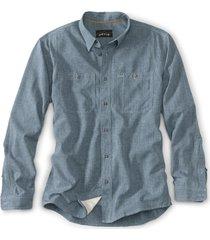 orvis men's tech chambray work shirt, 2xl