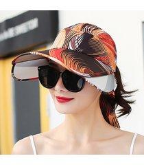 sombrero eléctrico de montar uv sombrero para el sol