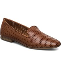 woms slip-on loafers låga skor brun tamaris