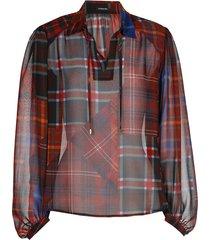 blouse ruit patch voile