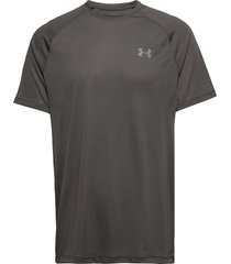ua tech 2.0 ss tee novelty t-shirts short-sleeved svart under armour