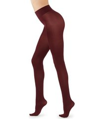 calzedonia 50 denier total comfort soft touch tights woman red size xl