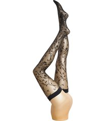 florina stay-up lingerie pantyhose & leggings svart wolford