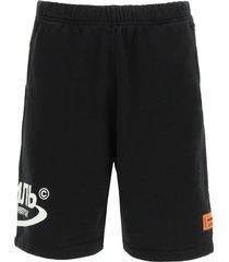heron preston ctnmb halo jogging shorts