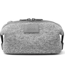 dagne dover small hunter neoprene toiletry bag, size one size - heather grey