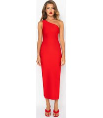 akira save it for the dance one sleeve maxi dress
