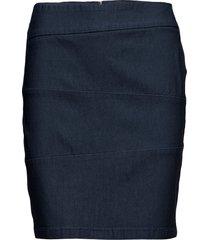 zalin 3 skirt kort kjol blå fransa