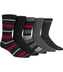 tommy hilfiger men's 5-pk. crew socks