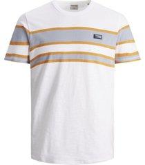 jack & jones men's cali striped t-shirt
