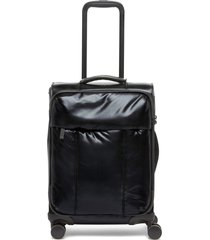 calpak 21-inch soft side spinner carry-on suitcase -