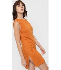 vestido naranja vitamina lis