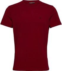 james tee t-shirts short-sleeved röd morris