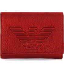 emporio armani ruby red small wallet