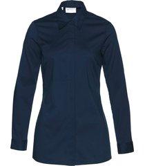 camicetta elasticizzata lunga (blu) - bpc selection