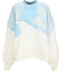 palm angels tie-dye sweatshirt
