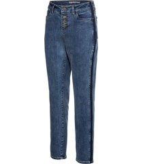 jeans boyfriend con bande laterali (blu) - rainbow